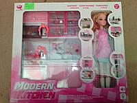 Ігровий набір Кухня 26216P-D з лялькою, фото 1