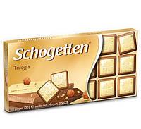Шоколад Schogеtten Trilogia 100 г Германия