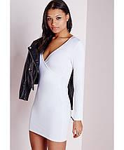 Новое белое платье облегающее платье Missguided, фото 2