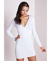 Новое белое платье облегающее платье Missguided, фото 3
