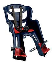 Bellelli - Велосидение TATOO handlefix детское переднее, цвет темно-синий