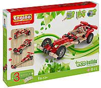 Конструктор Engino серия Eco Builds - Машинки, 3 модели с электродвигателем