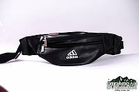 Барсетка , поясная сумка, бананка чёрная adidas, фото 1