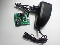Терморегулятор для инкубатора универсальный XH-W1209 с блоком питания 12 Вольт 0,1А