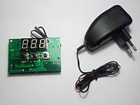 Терморегулятор для инкубатора универсальный XH-W1301 с блоком питания 12 Вольт 0,1А