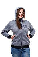 Трикотажная женская куртка Vintage