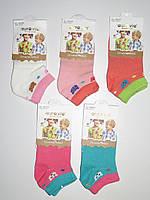 Детские короткие носки для девочек Aura.via оптом ,24/27-32/35 pp., фото 1