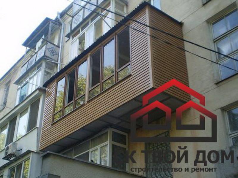 Балконы: расширение (увеличение 50см). в краснодаре - строит.