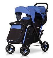 Детская прогулочная коляска для двойни FUSION sapphire - EasyGO Польша