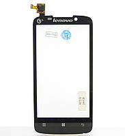 Сенсорный экран Touch screen Lenovo A670/ A670T black