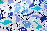 Детское постельное белье Динозавры (100% хлопок)