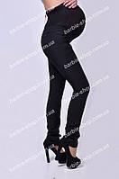 Классические женские лосины черного цвета 374