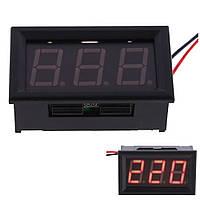 Вольтметр цифровой  30-500 V АС (Переменный тока)(YB27A)