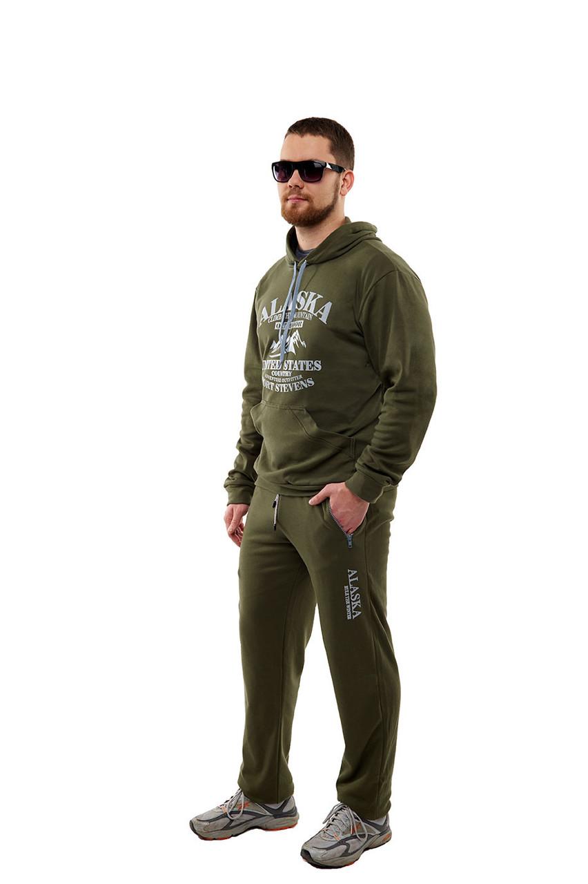 Мужской спортивный костюм из элитного турецкого трикотажа с высоким содержанием хлопка