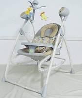 Колыбель-качели Baby Tilly  3в1 BT-SC-0005 GREY