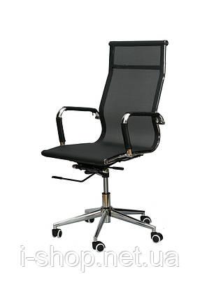 Крісло офісне Special4You Solano black, фото 2