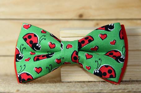 Галстук-бабочка I&M Craft ladybug (00068), фото 2