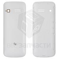 Задняя крышка батареи для мобильного телефона Fly FF177, белая, original, #V18C-F177-1051-200