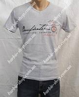Однотонные мужские футболки с надписями 1801