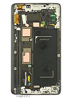 Дисплей для Samsung N915F Note Edge с сенсорным экраном с передней панелью. (с рамкой)