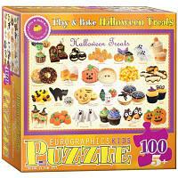 Пазл Угощеня на Хэллоуин, 100 элементов, EuroGraphics