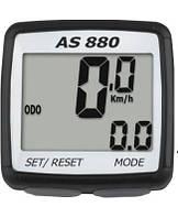 Велокомпьютер, спидометр ASSIZE AS - 880 проводной (11 режимов)
