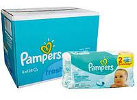 Влажные салфетки Pampers Baby Fresh Clean 6х128  шт.