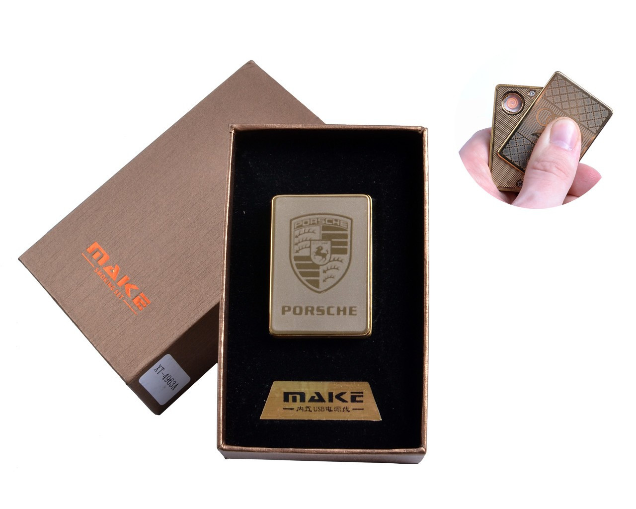Зажигалка USB Make Porsche 4693