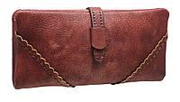 Модный женский кошелек TZ1453-1 dark red