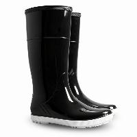 Гумові чоботи (резиновые сапоги) Demar HAWAI LADY Чорний