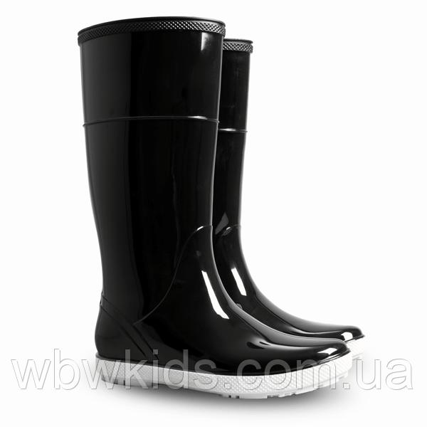 Гумові чоботи (резиновые сапоги) Demar HAWAI LADY Чорний  продажа ... 2ea5ac7b3fe8b
