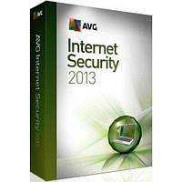 Avg internet security 2013 ( 1 ПК / 1 рік )