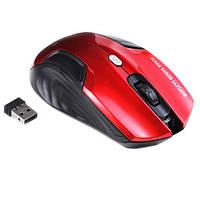 Беспроводная игровая мышь мышка Estone E1500 1200dpi, красная