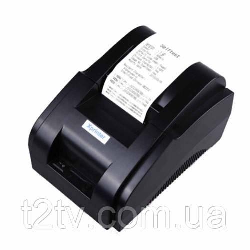Термопринтер, POS, чековый принтер XP-58IIH 58мм
