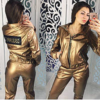 """Модная, женская куртка из экокожи """"DSQUARED"""" штаны и юбка в наличии"""