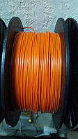Пластик АБС для 3Д печати 1кг оранжевый