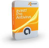 ПЗ Антивірус Avast 7! Pro Antivirus (5 ПК / 1 рік) картка подовження