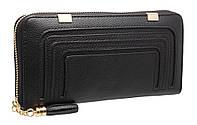 Модный женский кошелек A834 black