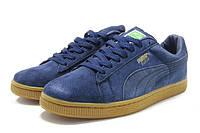 Кроссовки Puma Suede Classic. В приятном синем цвете.