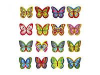 Вафельные «Бабочки микс с рисунком» - 180 шт.