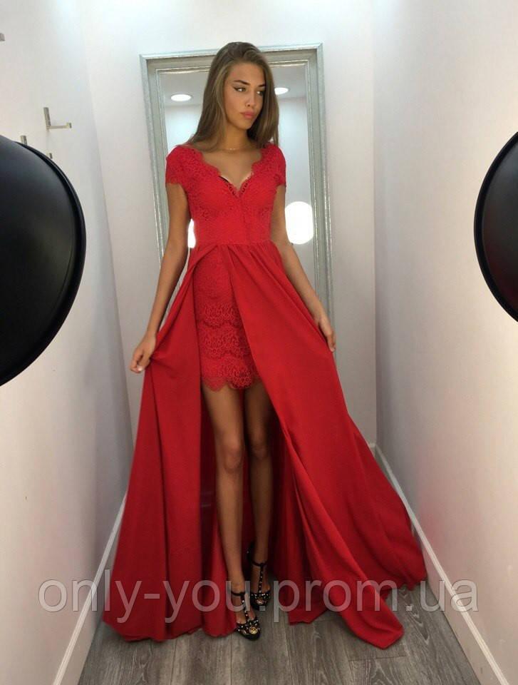 Съемная шифоновая юбка