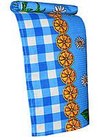 Кухонное вафельное полотенце (Голубой)