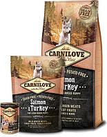 Сухой корм Carnilove Salmon & Turkey Large Breed Puppy 12 kg для щенков крупных пород ( ≥ 25 KG, 3 – 30 мес.)