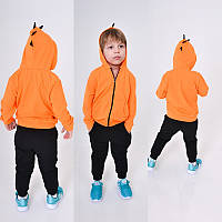 """Стильный детский костюм для мальчика """"Динозаврик"""" (турецкий трикотаж двунитка, капюшон, ) РАЗНЫЕ ЦВЕТА!"""