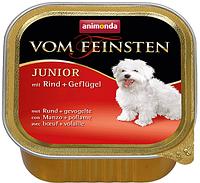 Animonda Vom Feinsten Junior говядина с птицей, 150 гр