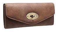 Модный женский кошелек TZ1456-1 brown