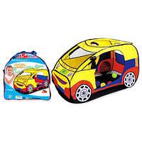 """Большая детская палатка 5001 """"Спортивная машина"""". Размер: 120-60-65 см"""