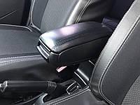 Renault Duster 2008+ гг. Подлокотник (в подстаканник)