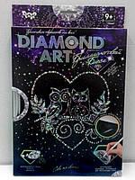 Алмазная живопись, Совы в сердце (DAR-01-03), фото 1