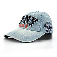 Джинсова бейсболка AF NY - №2083